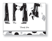 Product Image For Retro Graduation Feet Note